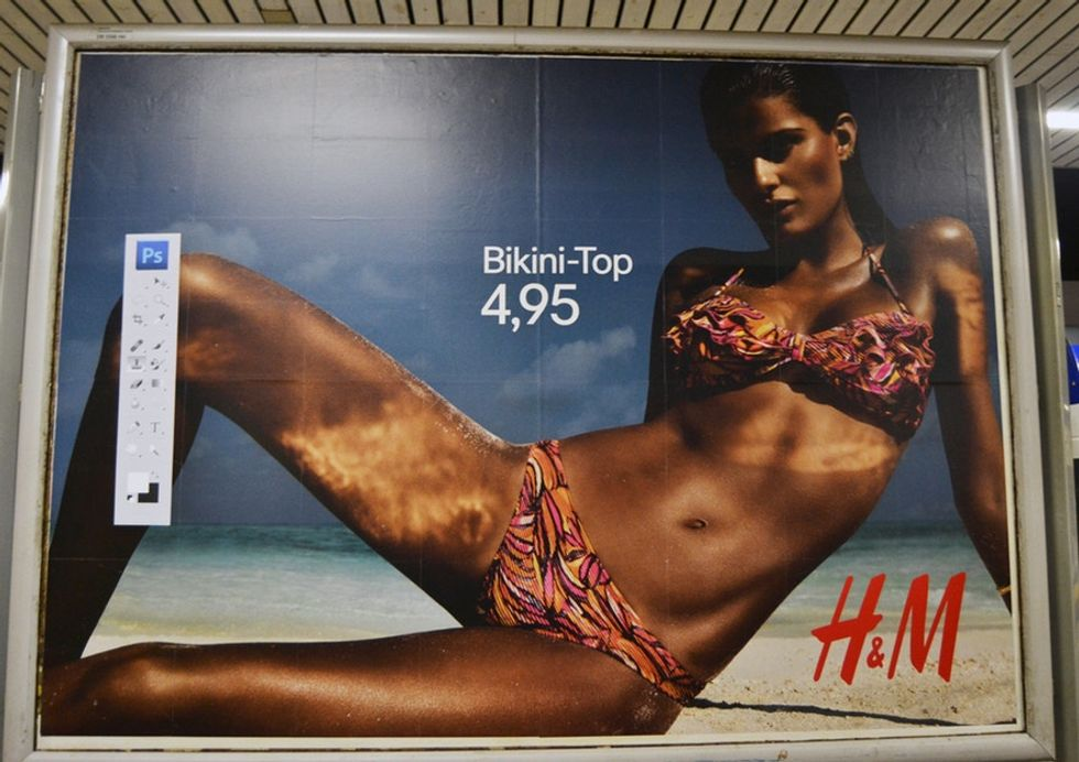 Do You Spot What's Not Quite Right With These Fashion Posters?