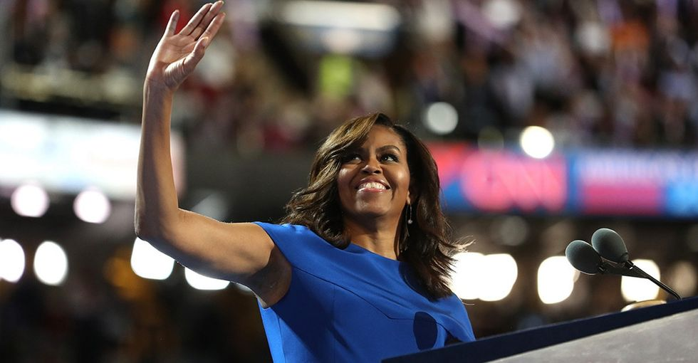 Michelle Obama brought down the house. Here are 5 incredible quotes.
