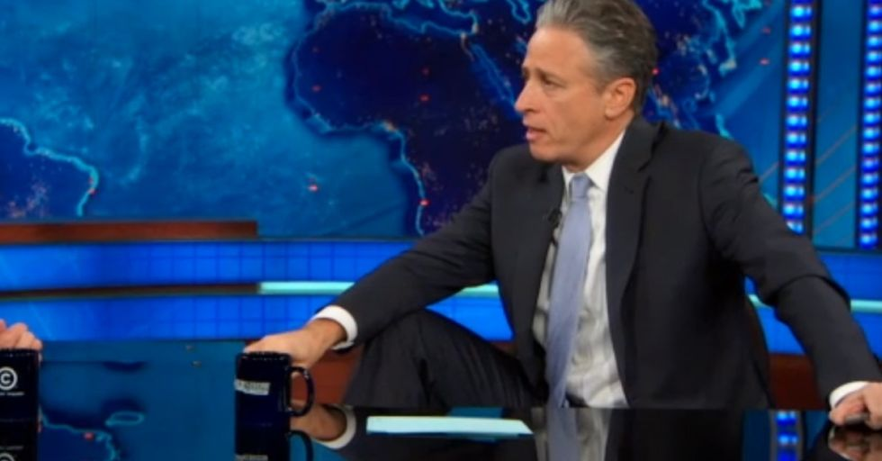Jon Stewart Delivers One Of The Best Interviews In Recent Memory