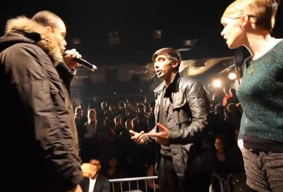 A Girl Is Threatened With Rape In A Rap Battle, And So The Judge Steps In To Deliver His Own Verse