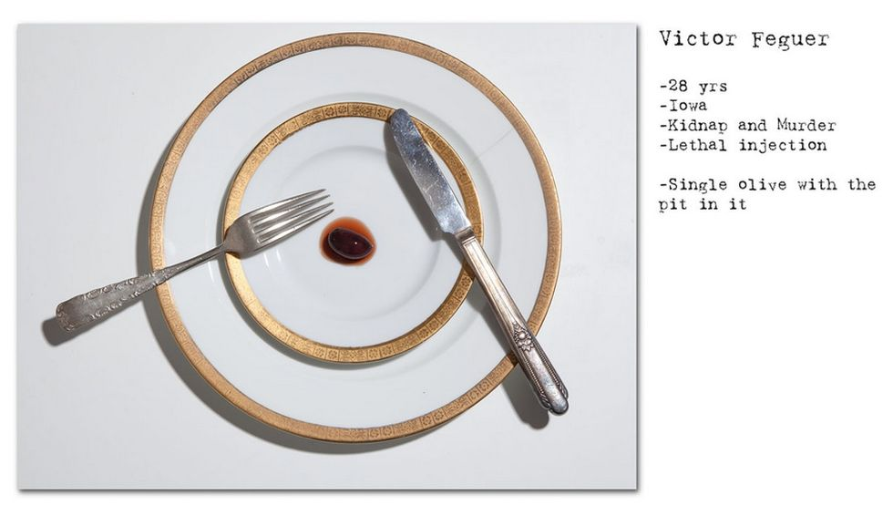 12 photos of what death row inmates requested for their last meals.