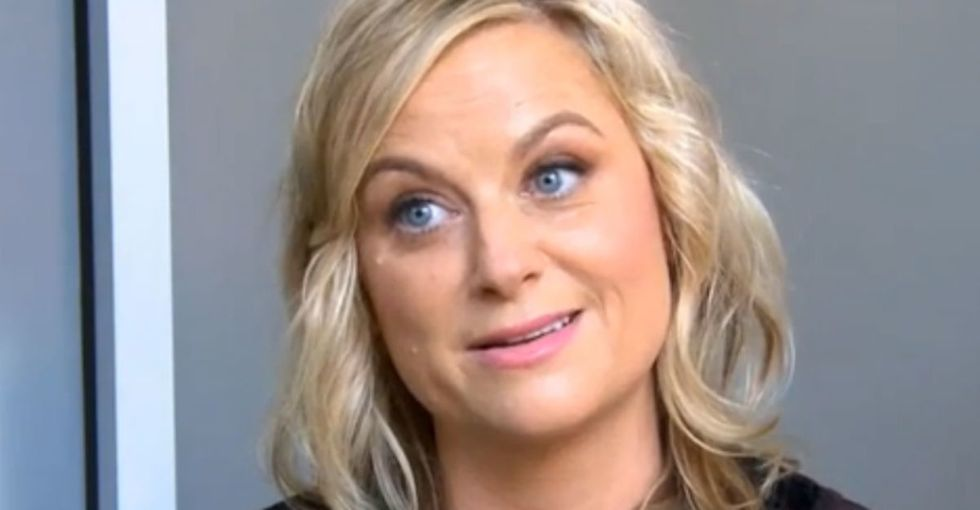 Funny how a 'new' male problem is a very old problem for women. Amy Poehler explains.