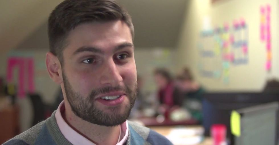 This Guy Was Shocked At The Amount Of Food His College Cafeteria Threw Away. So He Did Something.