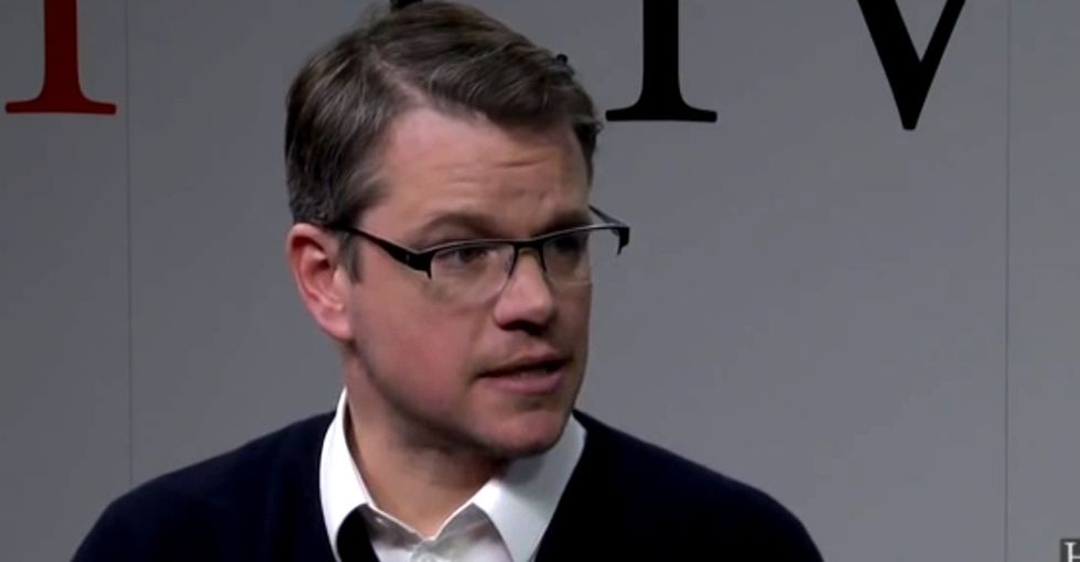 Matt Damon Asked A Cheery 13-Year-Old What She'll Do With Her Free Time. Her Answer Devastated Him.