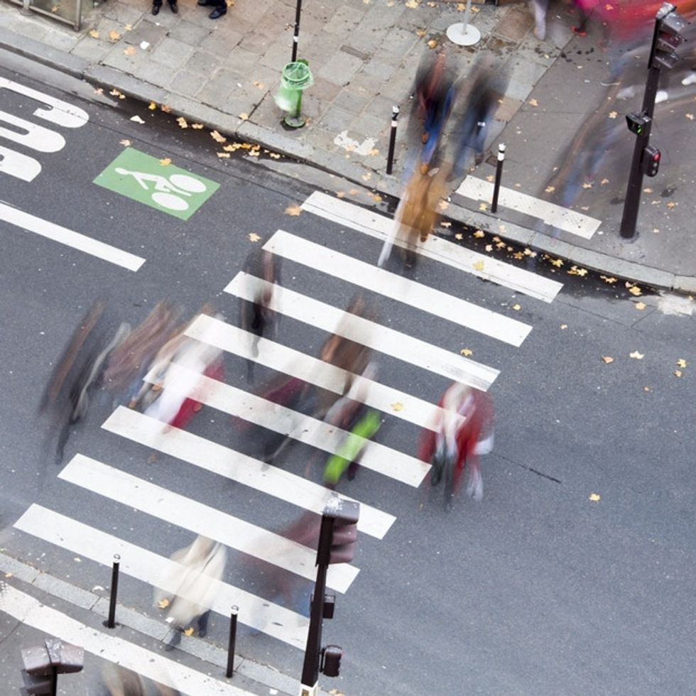 Turns out, there's a method to the madness of crosswalk lights. Here it is.