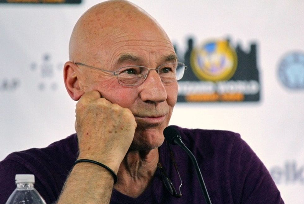 Hear Patrick Stewart Give An Honest Insight Into His Experience Of Domestic Violence