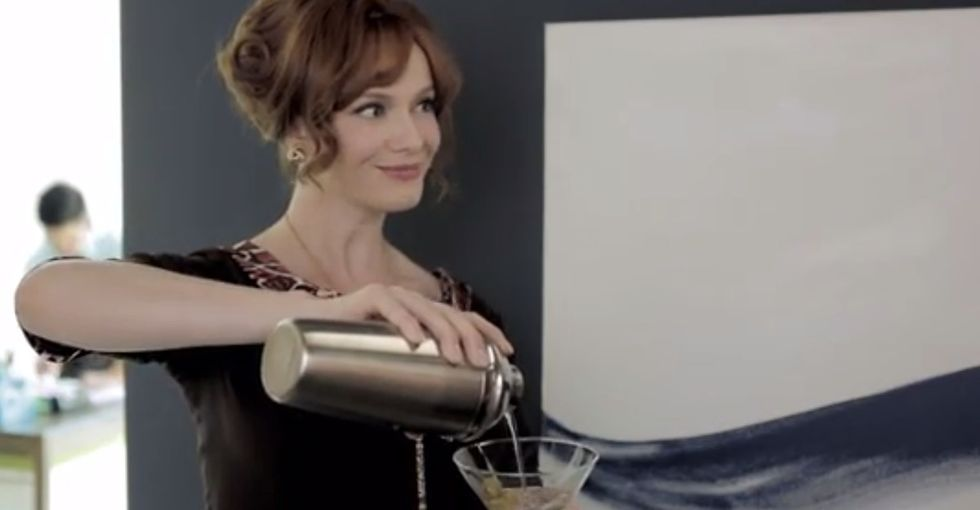 That Lady From 'Mad Men' Tries To Work In A Modern Office And It Doesn't Go So Well. At All.