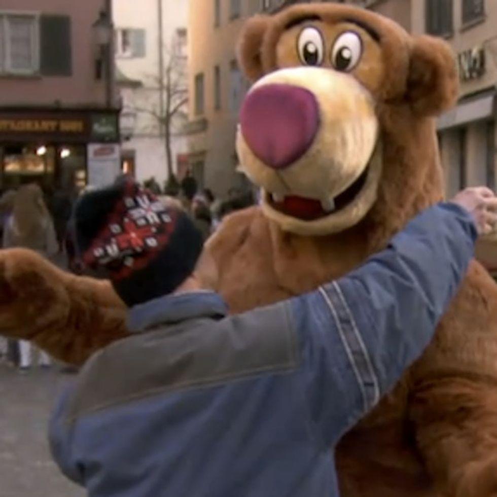 Would You Hug This Bear?