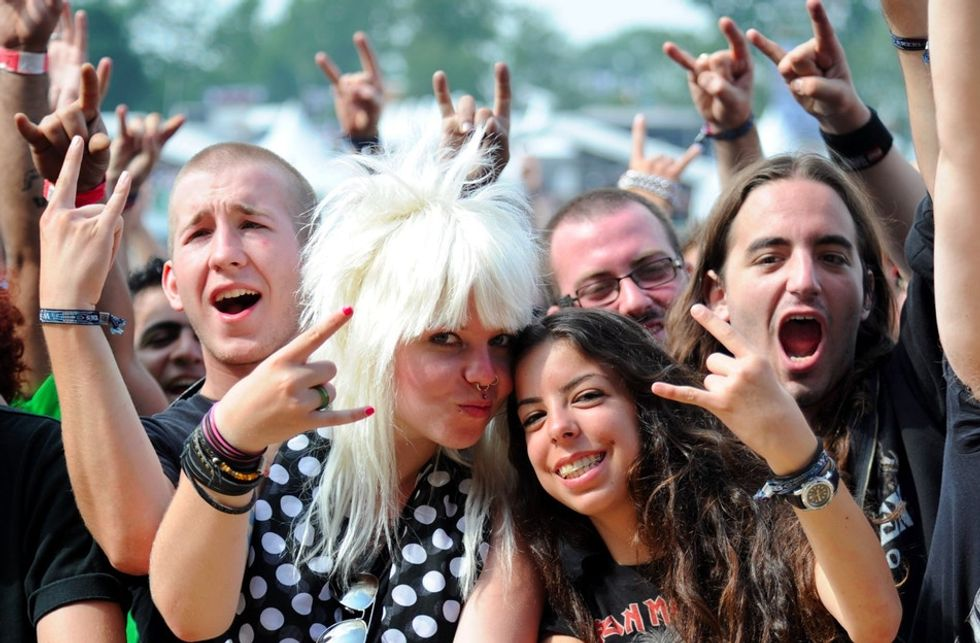 Early heavy metal fans grew up, and a new study shows they're doing better than their peers.