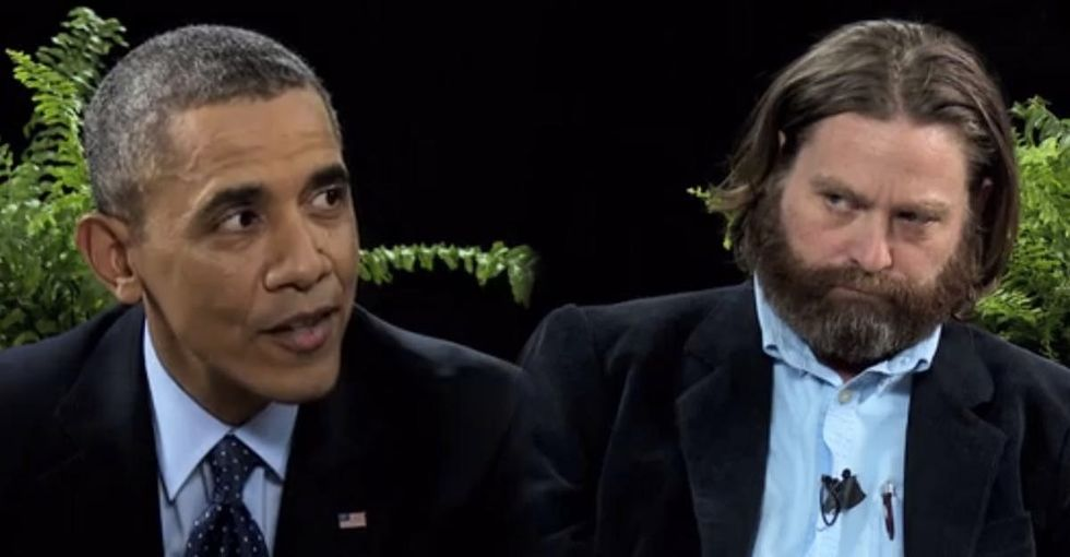 President Obama Burns A Rude Celebrity And Then Teaches Him How To Get It Treated