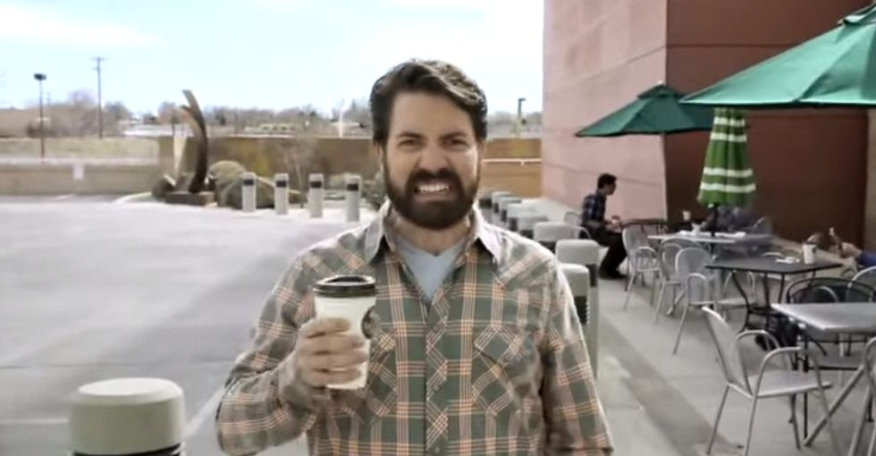 A Dude Promoting Health Insurance Leaves Chaos In His Wake