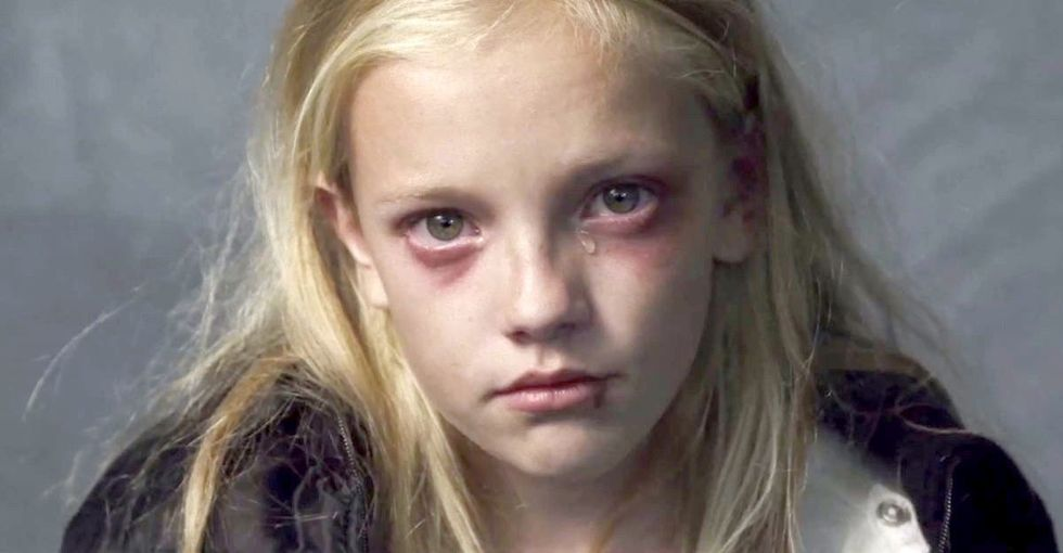 Here's a story about what foster care is like for an abused child removed from her home.