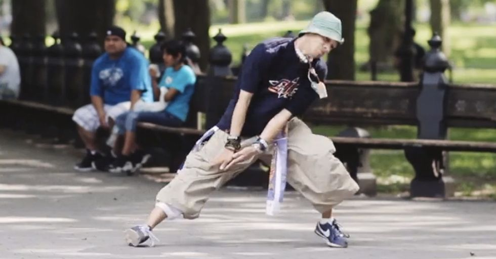 Watch 3 Men Dance In A Public Park To The Delight Of Themselves And Those Around Them