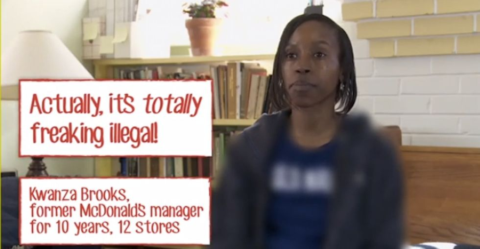 What McDonald's Asked These Managers To Do Isn't Just Horrible. It's Illegal.