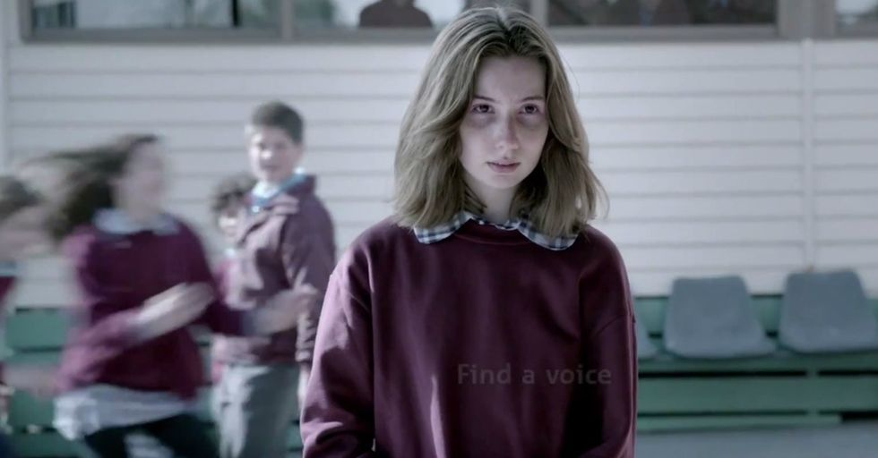 She Gives The Bullies A Few Seconds. Then Stops Them Cold.