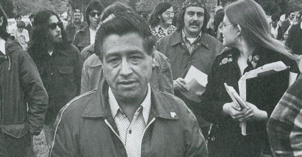 If You Join This #UpChat About Cesar Chavez, You'll Do The World A Solid