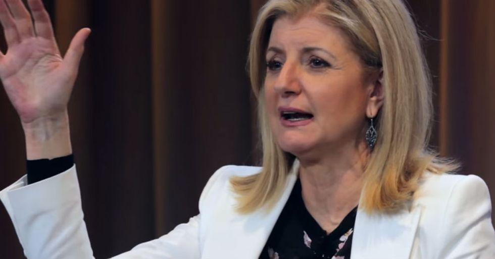 Arianna Huffington Launched A Media Empire And Then Woke Up To A Serious Reality