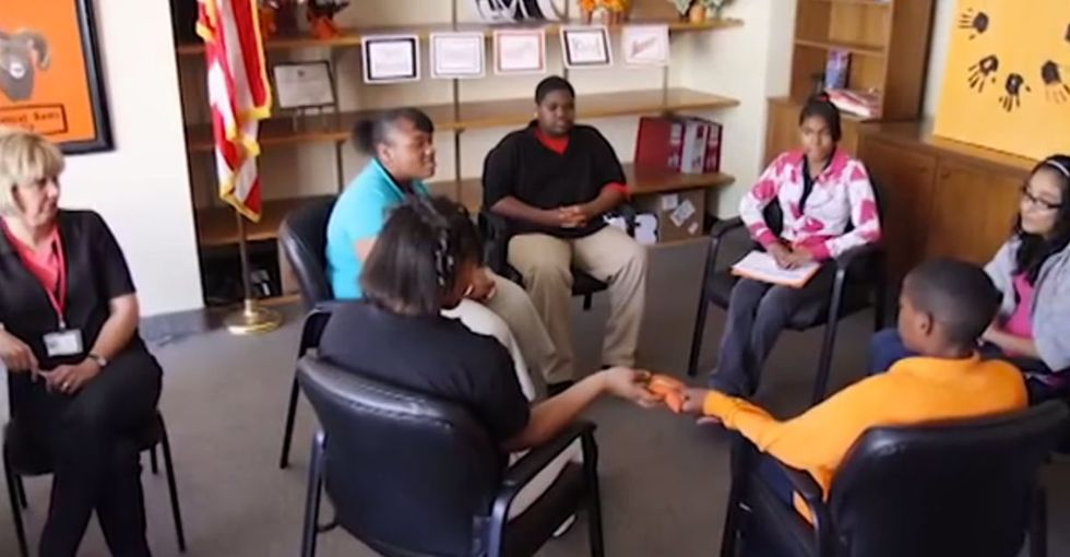 This School Struggled With Detentions, So They Asked For Students' Help. Guess What? It's Working.