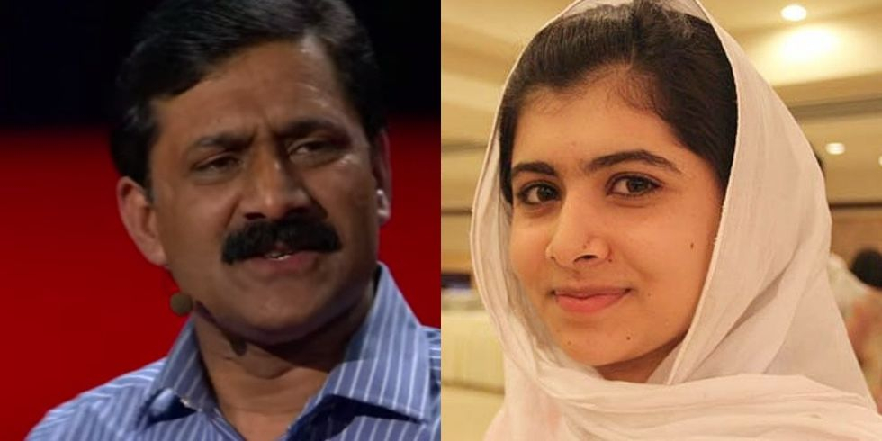 Malala's Father Explains That His Daughter Is So Strong Because He Didn't 'Clip Her Wings'