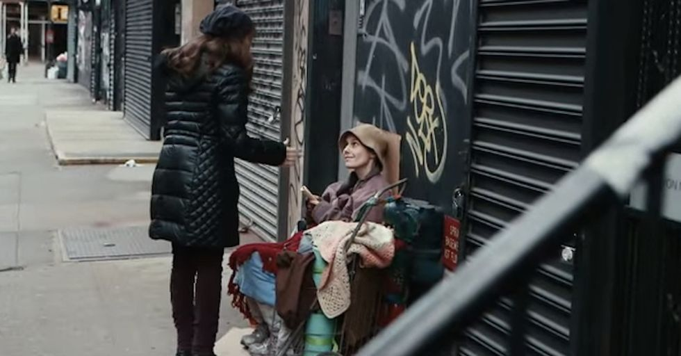 An experiment: If you saw your wife or your mother in the street, homeless, would you recognize her?