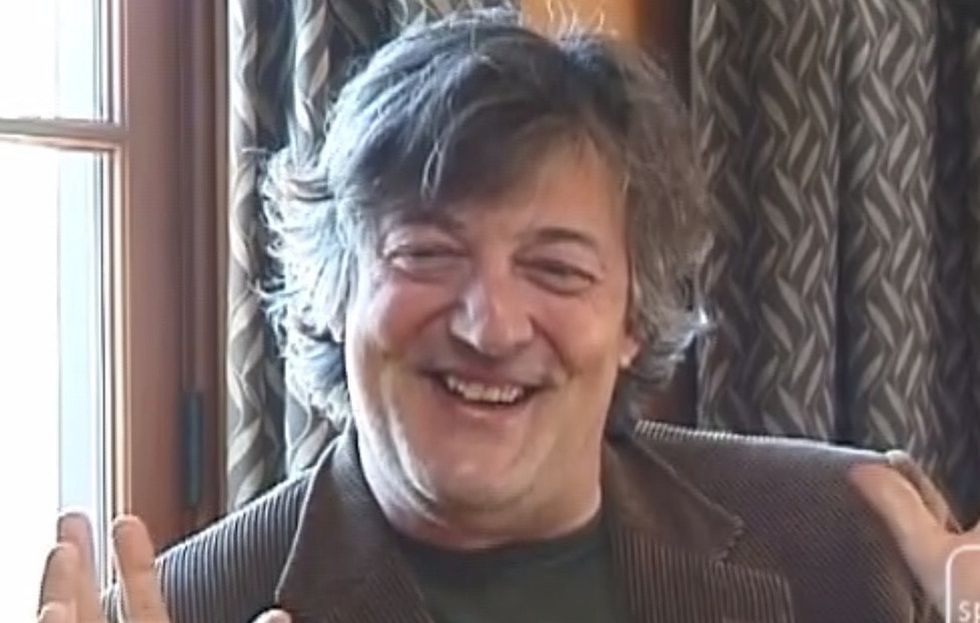 Stephen Fry Wants You To Stop Setting Goals For Yourself. He's Got A Point, Though.