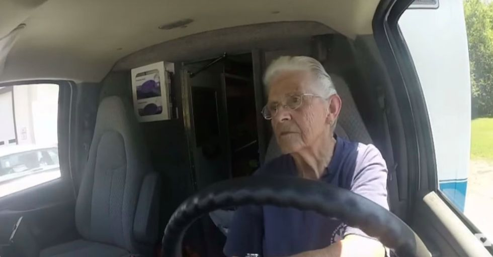 This ambulance driver drove straight past retirement. At 87, she's goin' strong.