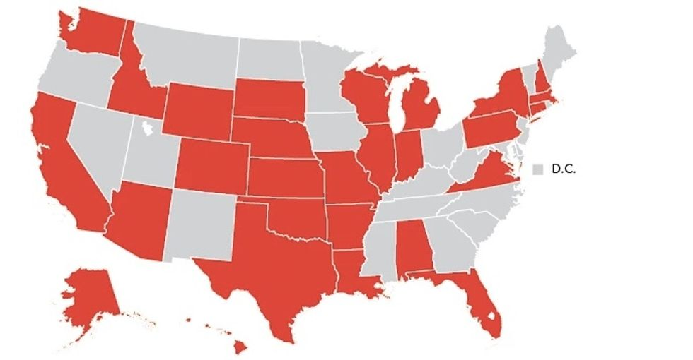 Here's what schools are (and aren't) telling kids about sex in each state.