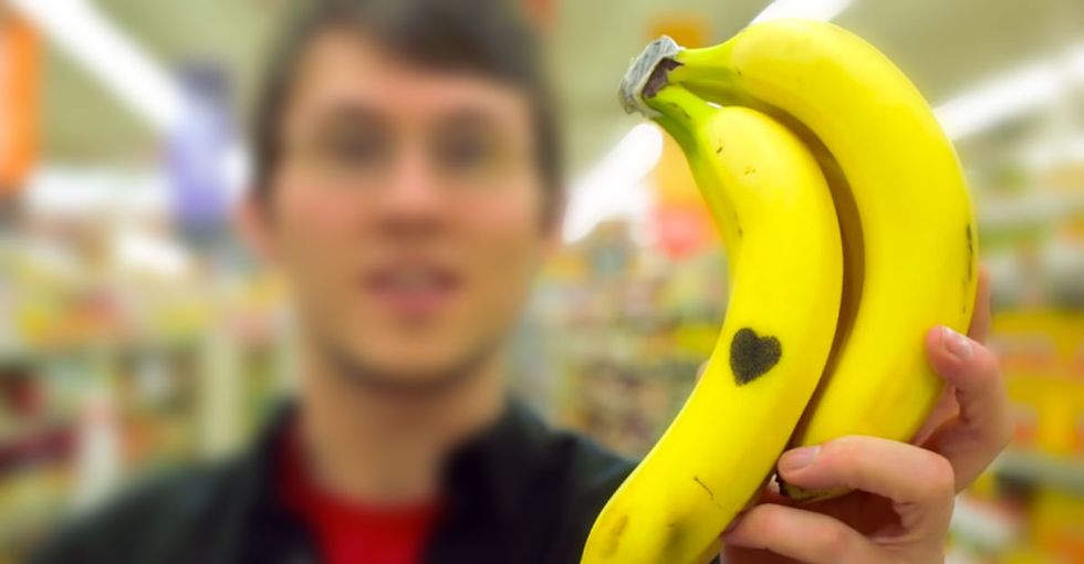 Hey, You. We Need To Have A Serious Talk. Signed, One Disgruntled Banana.