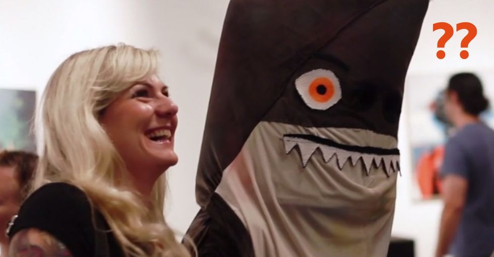Love Your Neighbor, Even If She's A Shark