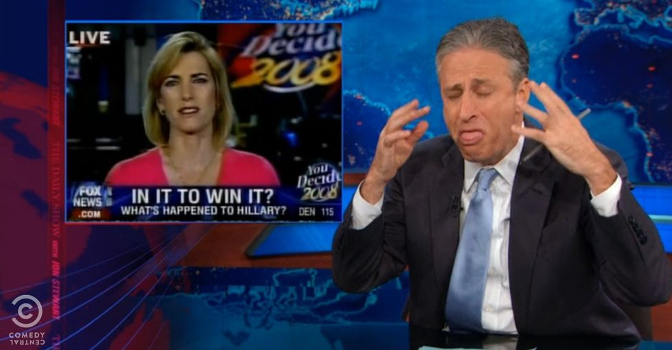Jon Stewart Proves Double Standards For Female Politicians With The Most Hilarious Evidence Possible