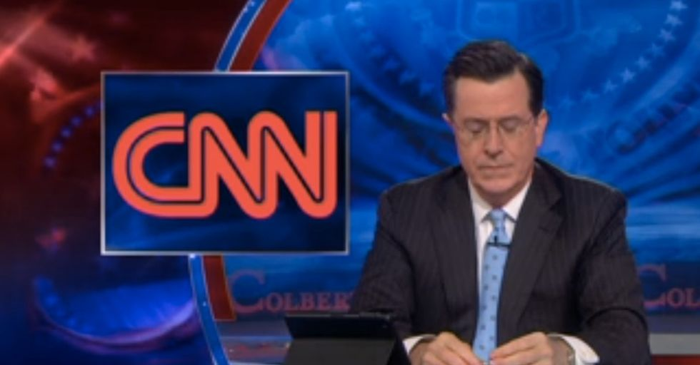 Stephen Colbert Calls Out CNN On Their Inability To Report Actual News