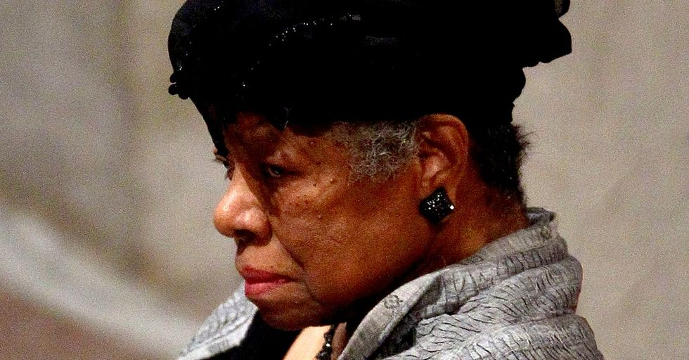 Maya Angelou Wrote This Poem To Remind Everyone They're Worth So Much More