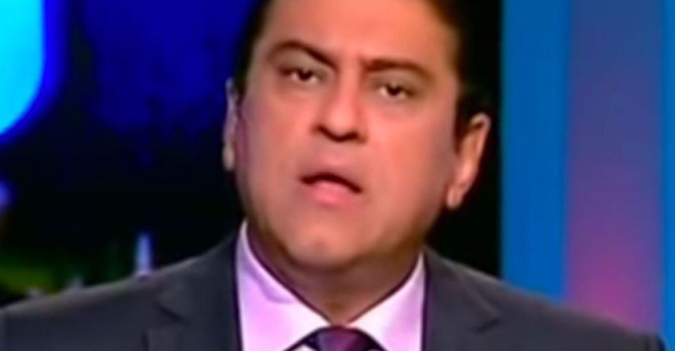 A TV host's response to an intolerant jerk isn't clever or witty. It's just absolutely perfect.