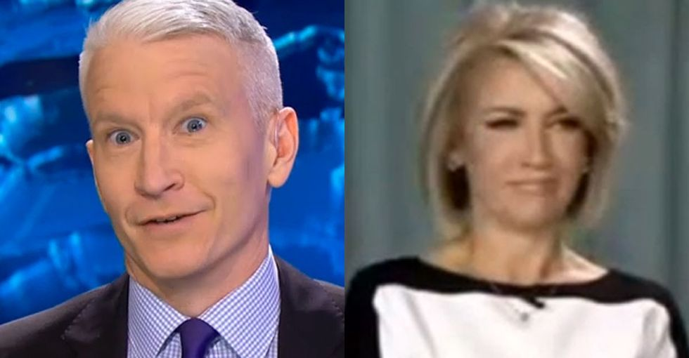 She didn't think she had a problem with gay people, but Anderson Cooper cleared that right up.