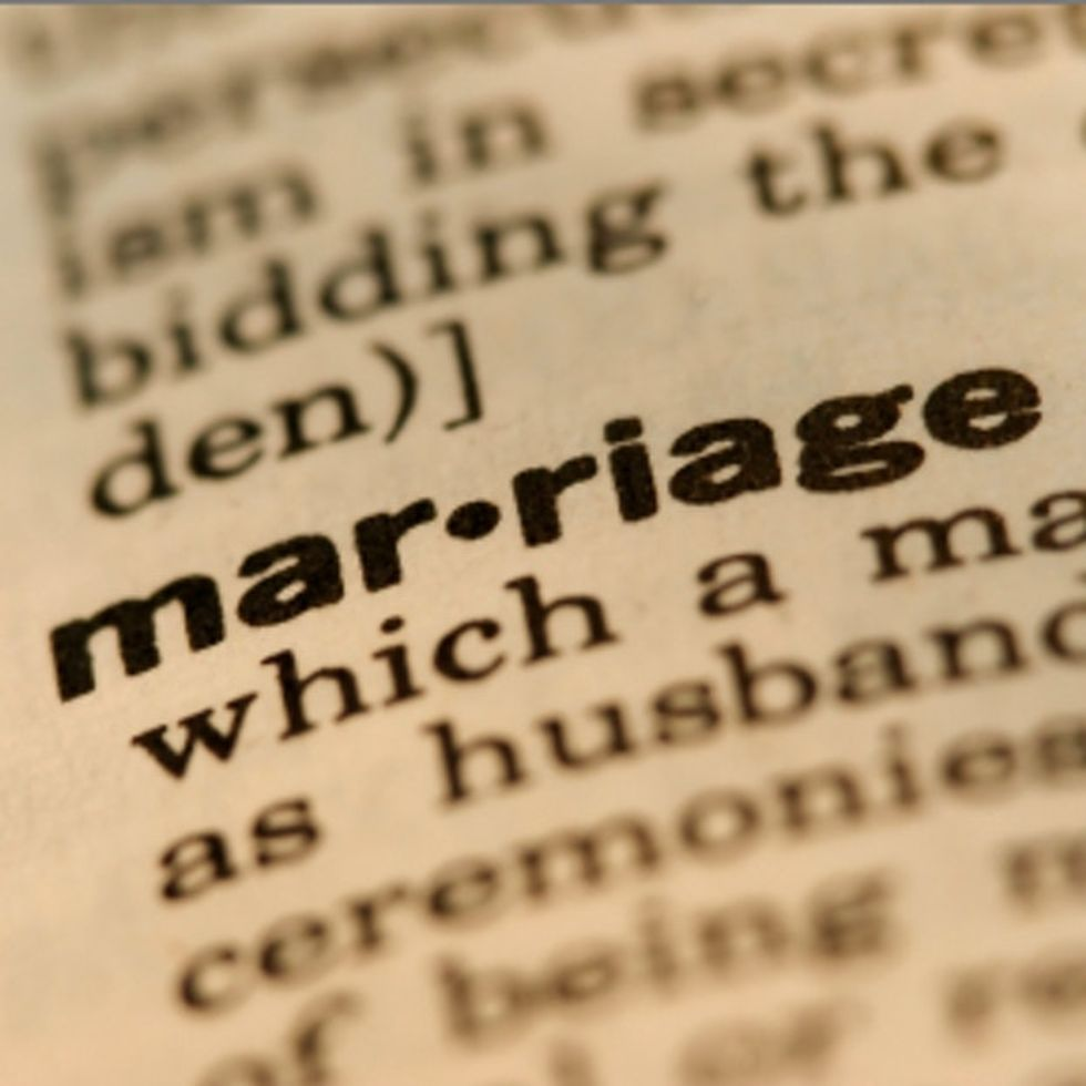 Traditional Marriage: We Talkin' 1769, When Women Were Owned? Or 1691, When It Was Whites Only?