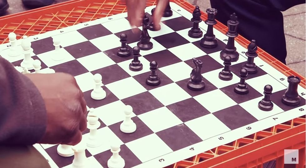 Watch the first (and only!) African-American grandmaster teach life lessons through chess.