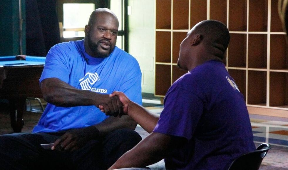 This 24-year-old had a tough upbringing, but his grandma helped turn it around. Shaq can relate.