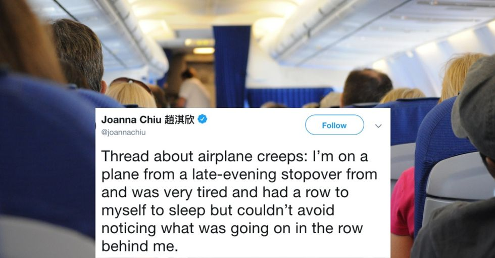 She saw a man harassing a teen on a plane. The action she took is why her tweet thread went viral.