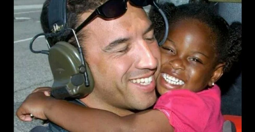 Remember this viral Hurricane Katrina photo? Finally, these two reunited.