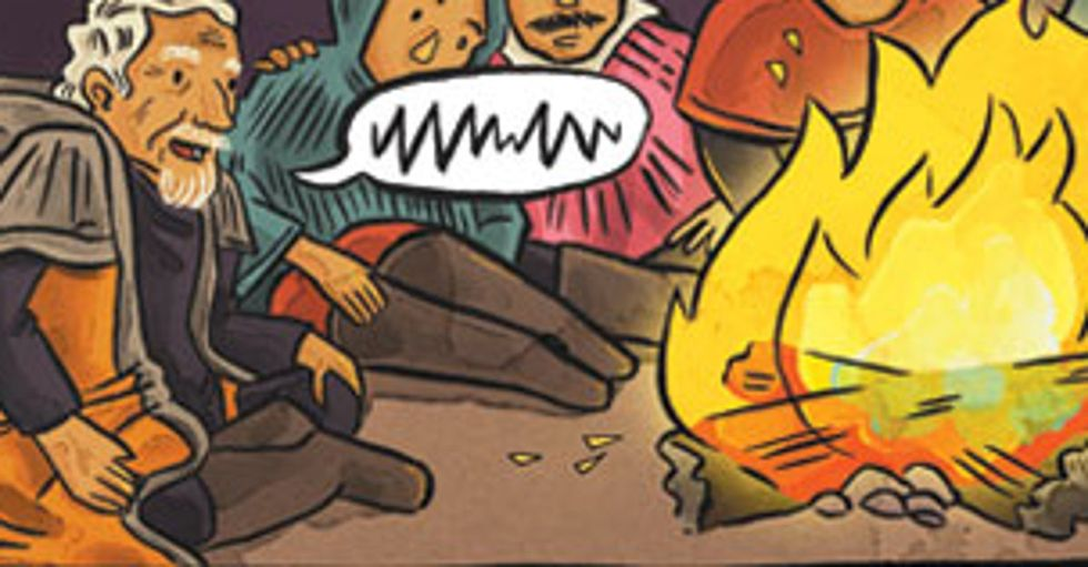 Is The Internet Our New Campfire? Sit Down And Share Your Story.