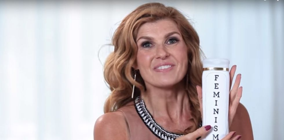 What do Connie Britton's hair and women's equality have in common? Everything.