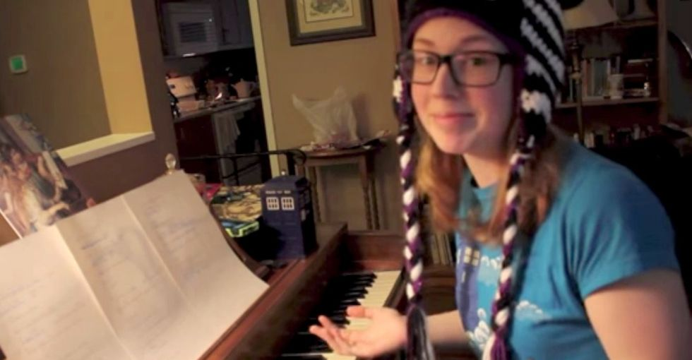 This Girl Wrote New Lyrics For 'Let It Go,' And They Are Quite Stunning