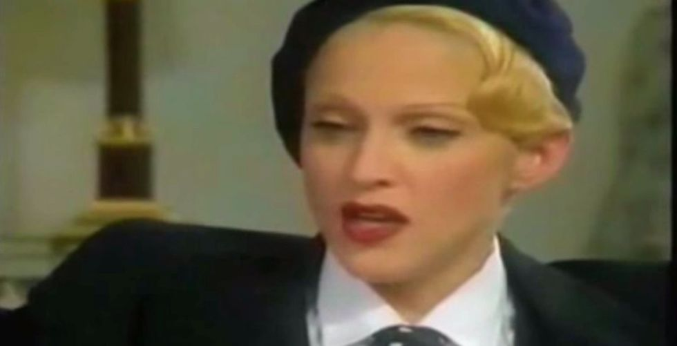 A Reporter Asks Madonna A Question Everyone Else Was Afraid To. She Gives A Kick-Ass Reply.
