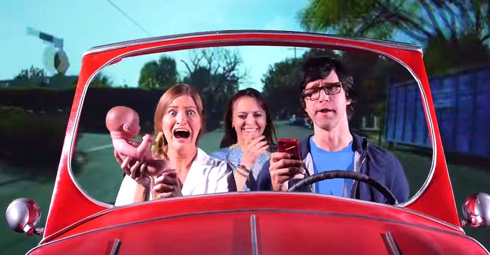 All The Not-So-Normal, Crazy Things People Do While Driving, In One Catchy Music Video