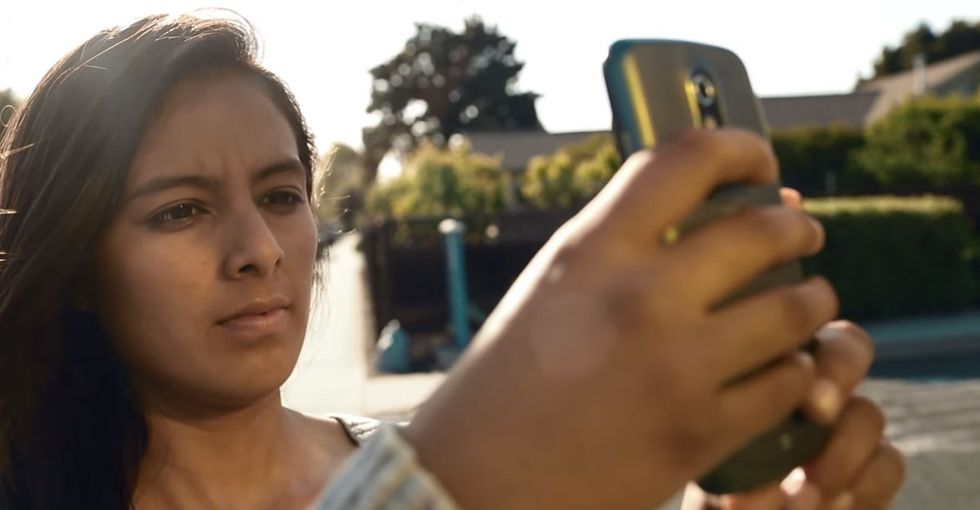 When their neighbors got fed up with the graffiti, these teens busted out their cellphones.