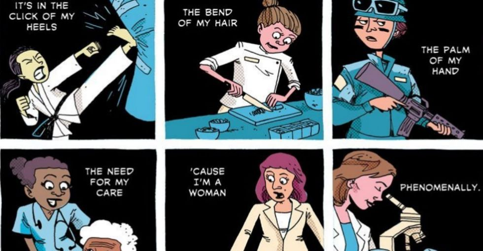 A Fierce Girl Grows Up, Speaks Her Mind, Is Praised By World Leaders And A Comic Captures It All