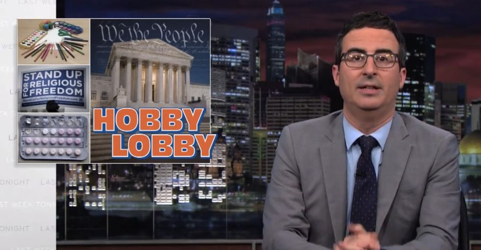 Hobby Lobby Gets What It Wants And John Oliver Explains Why That's Going To Backfire Badly