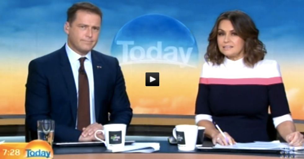 An Australian TV Host Highlighted Sexism In The News Industry Using One Knockoff Suit