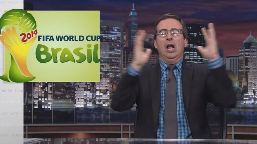 World Cup Fever? Let John Oliver Tell You Everything Wrong With The Organization Behind It.