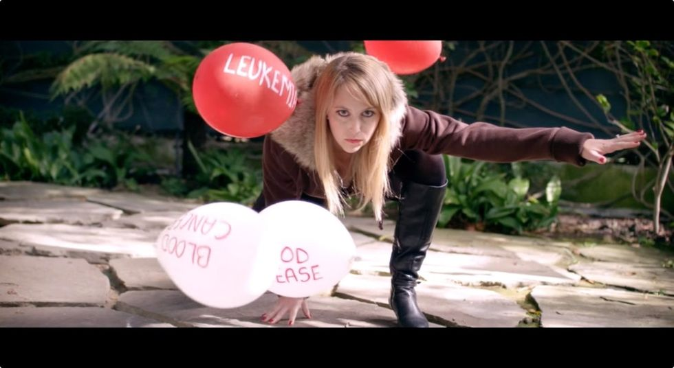 Do you have 'bad blood' or 'good blood?' This Taylor Swift parody video wants you to find out.